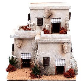 Maisons, milieux, ateliers, puits: Maisons orientales 28x25x25 cm