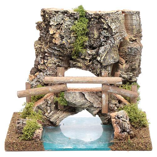combinable river: bridge 15x20x15 cm 1