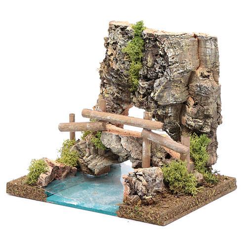 combinable river: bridge 15x20x15 cm 2