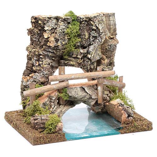 combinable river: bridge 15x20x15 cm 3
