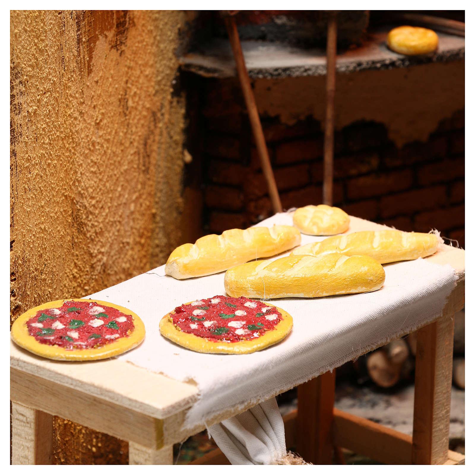 Ambientación panadería belén napolitano 24 cm 4