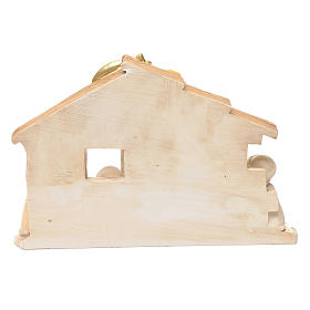 Children resin nativity scene hut 15x20 cm s4