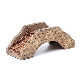 Ponte per presepe in legno 5x15x6 cm s2