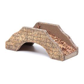 Ponte per presepe in legno 5x15x6 cm s3