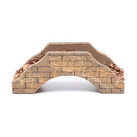 Ponte per presepe in legno 5x15x6 cm s4