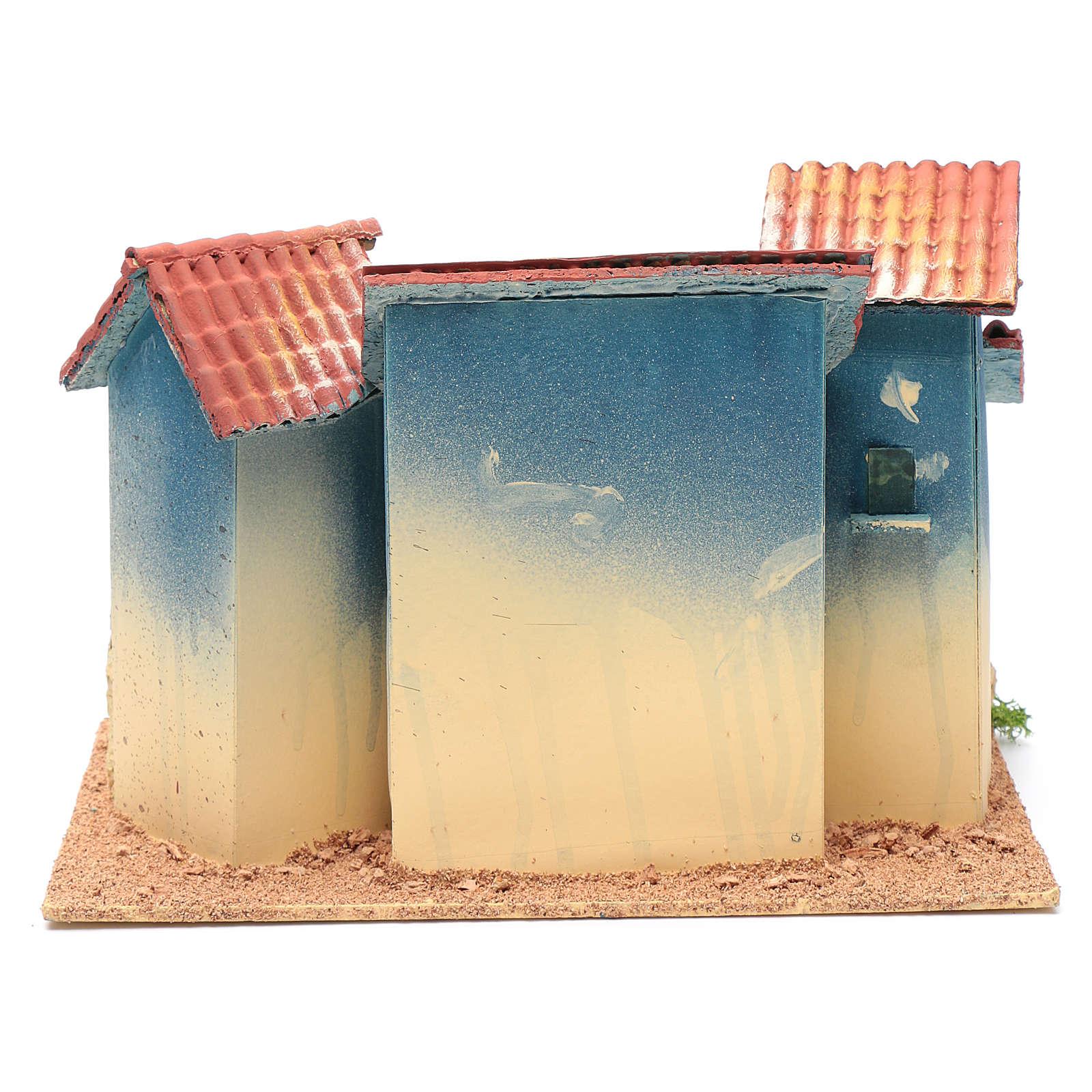 Borgo case e capannina 20x30x20 cm 4