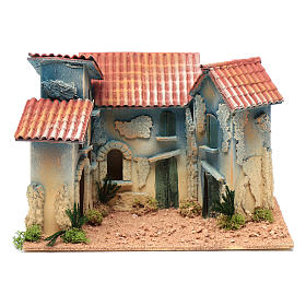 Borgo case e capannina 20x30x20 cm s1