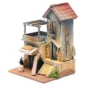 Ambientación con taller carpintero 25x20x15 cm s2