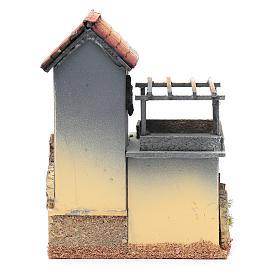 Décor avec atelier menuisier 23,5x18x15 cm s4