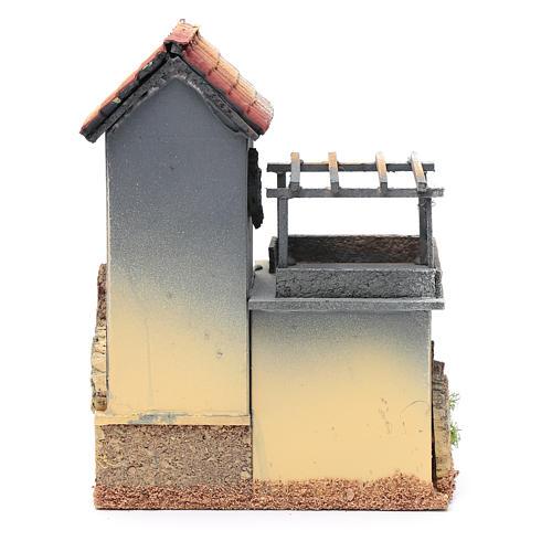 Décor avec atelier menuisier 23,5x18x15 cm 4