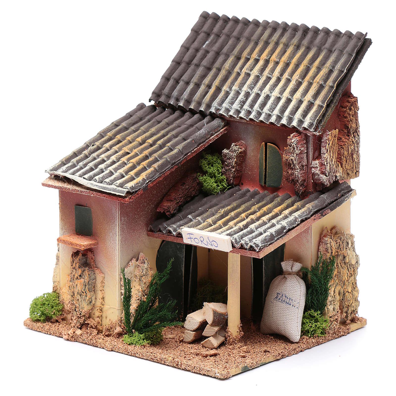 Ambientación con tienda panadería 25x20x15 cm 4