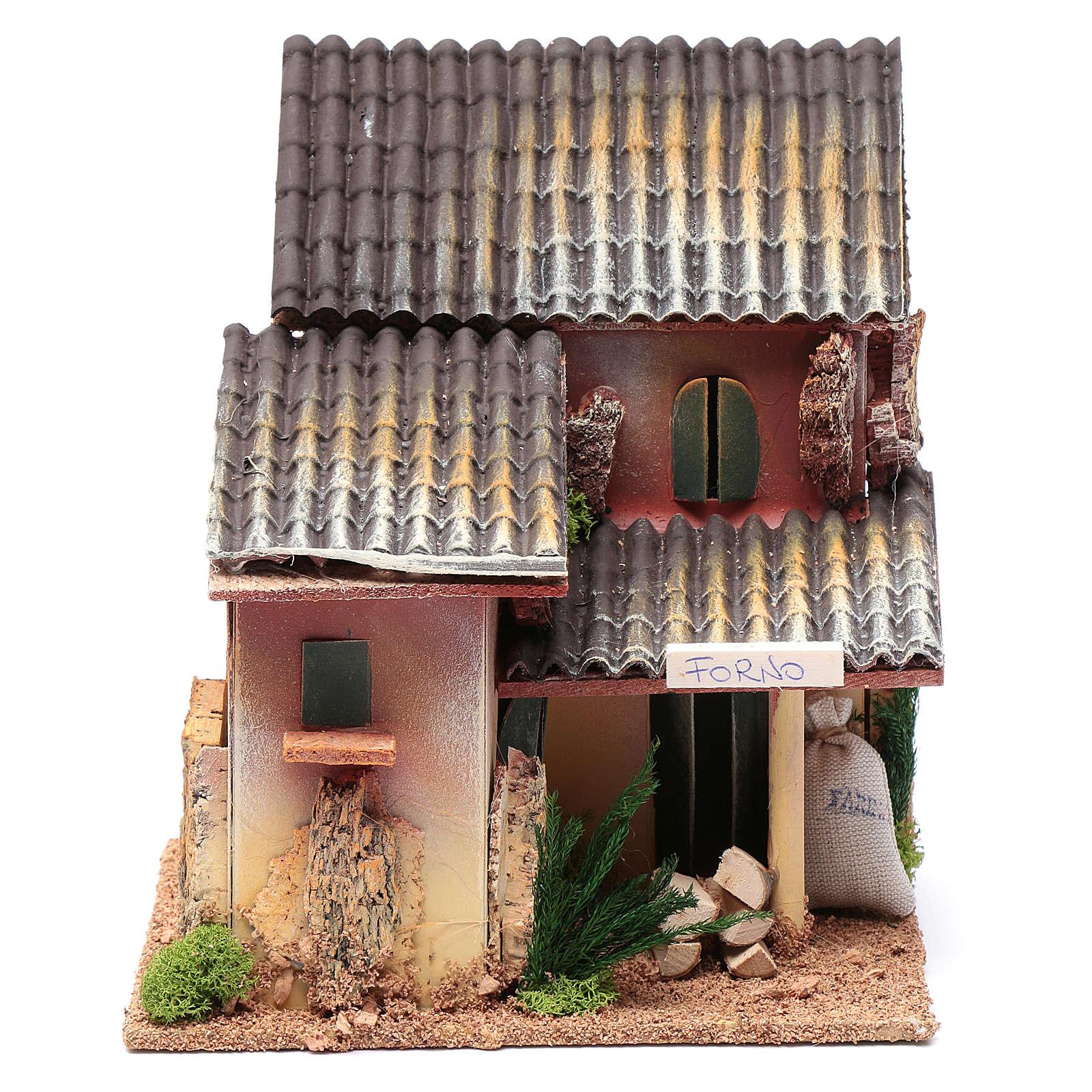 Ambientazione con bottega forno 25x20x15 cm 4
