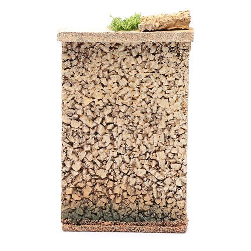 Muro di cinta 25x15x5 cm per presepe 3