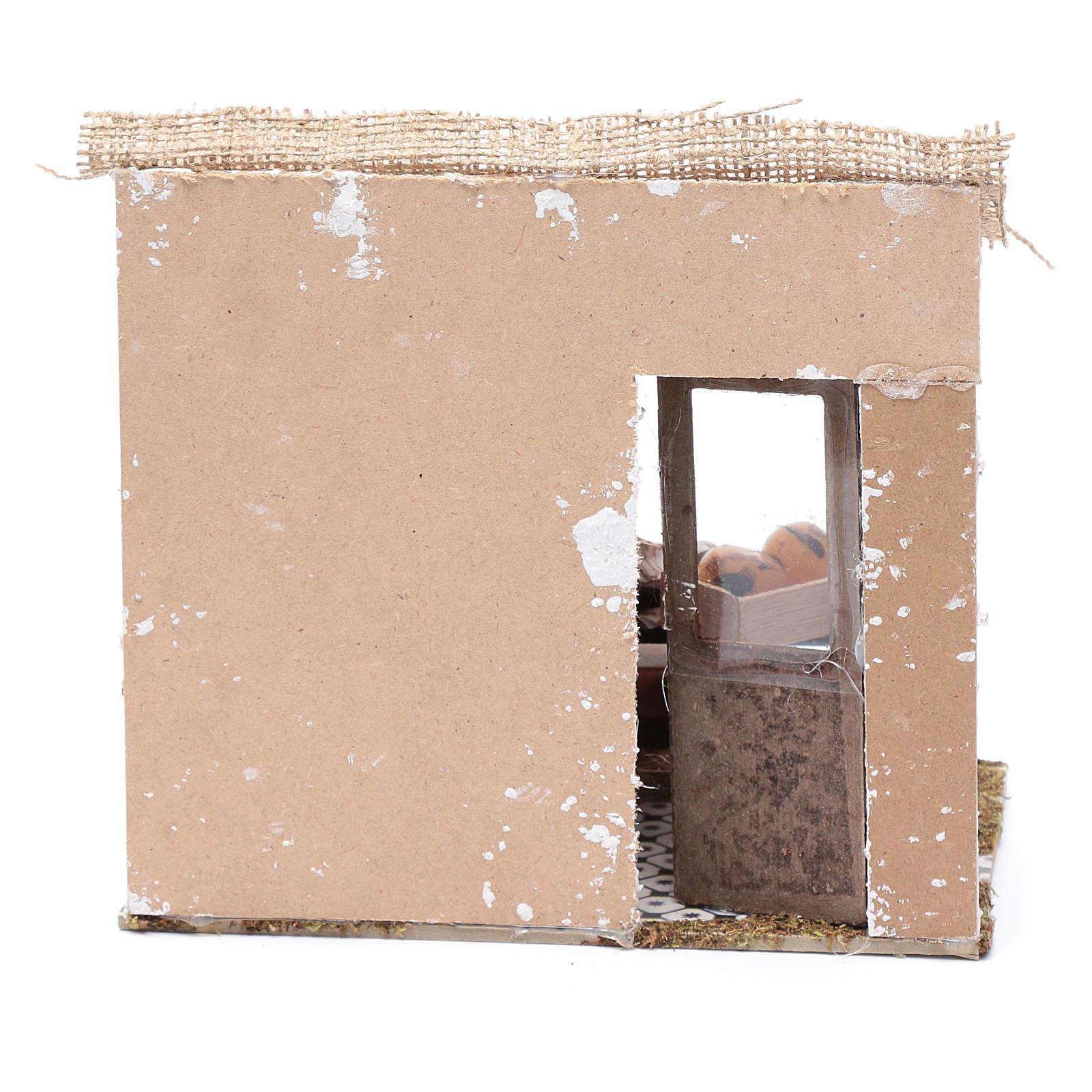 Atelier four 17,5x20x13 cm pour crèche 4