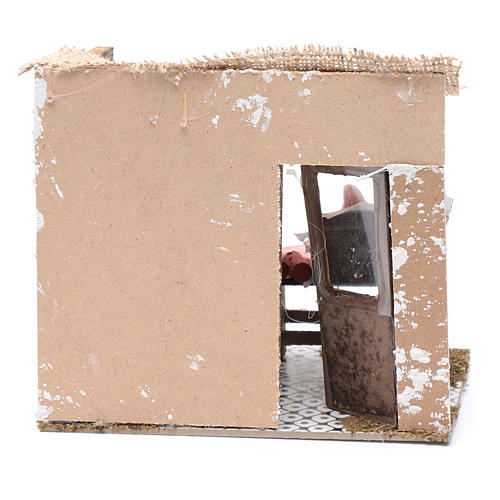 Atelier boucher 17,5x20x13 cm pour crèche 4