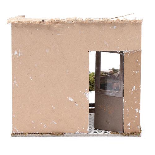 Poissonnerie avec banc 17,5x20x13 cm pour crèche 4