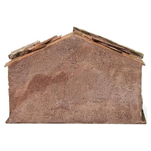 Cabane pour crèche 12 cm 35x18x24 cm 4