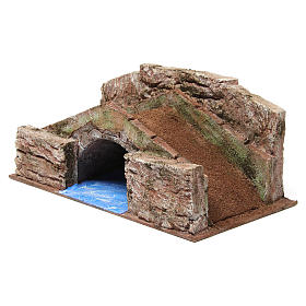 High Stream Bridge for 12cm nativity 20x35x20cm s2