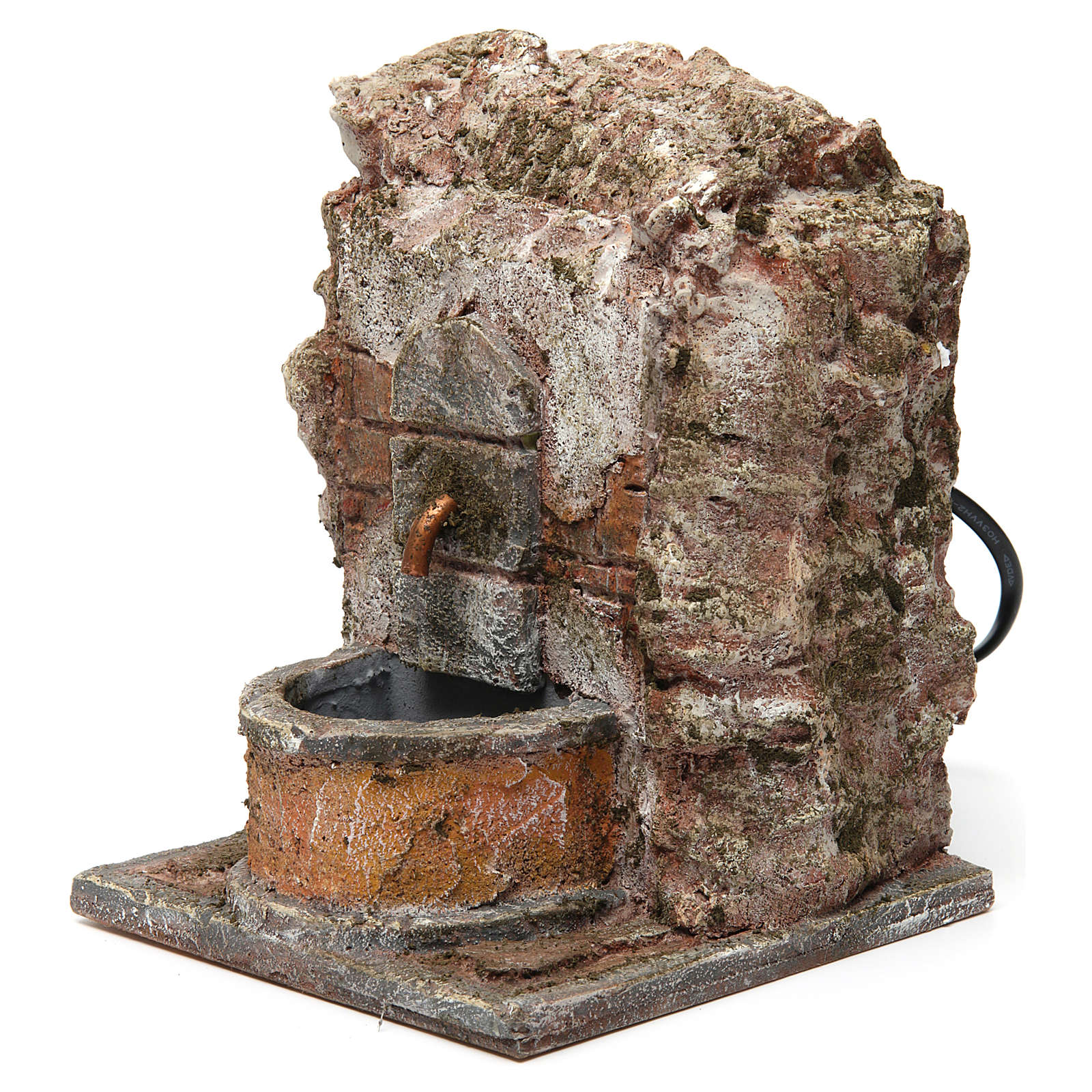 Wall fountain for 10-12 cm nativity scene 4