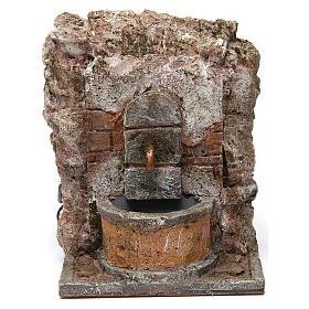 Fontana muro per presepe 10-12 cm 20x15x15 cm s1