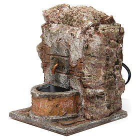 Fontana muro per presepe 10-12 cm 20x15x15 cm s2