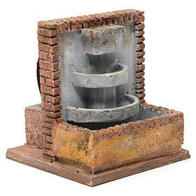 Fontana per presepe 10-12 cm 20x15x15 cm s3