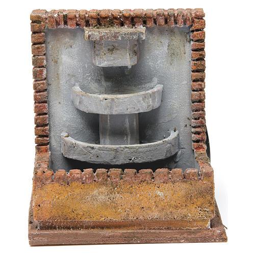 Fontana per presepe 10-12 cm 20x15x15 cm 1