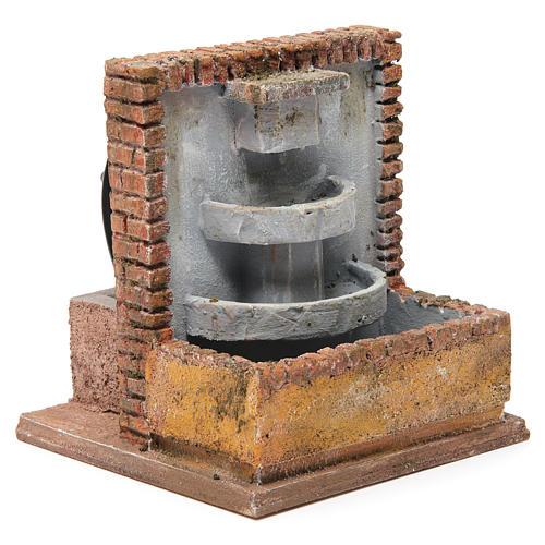 Fontana per presepe 10-12 cm 20x15x15 cm 3