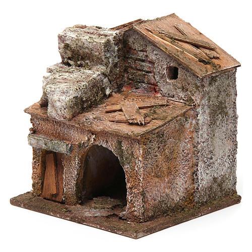 Casa porta e porticato 10x10x10 cm 2