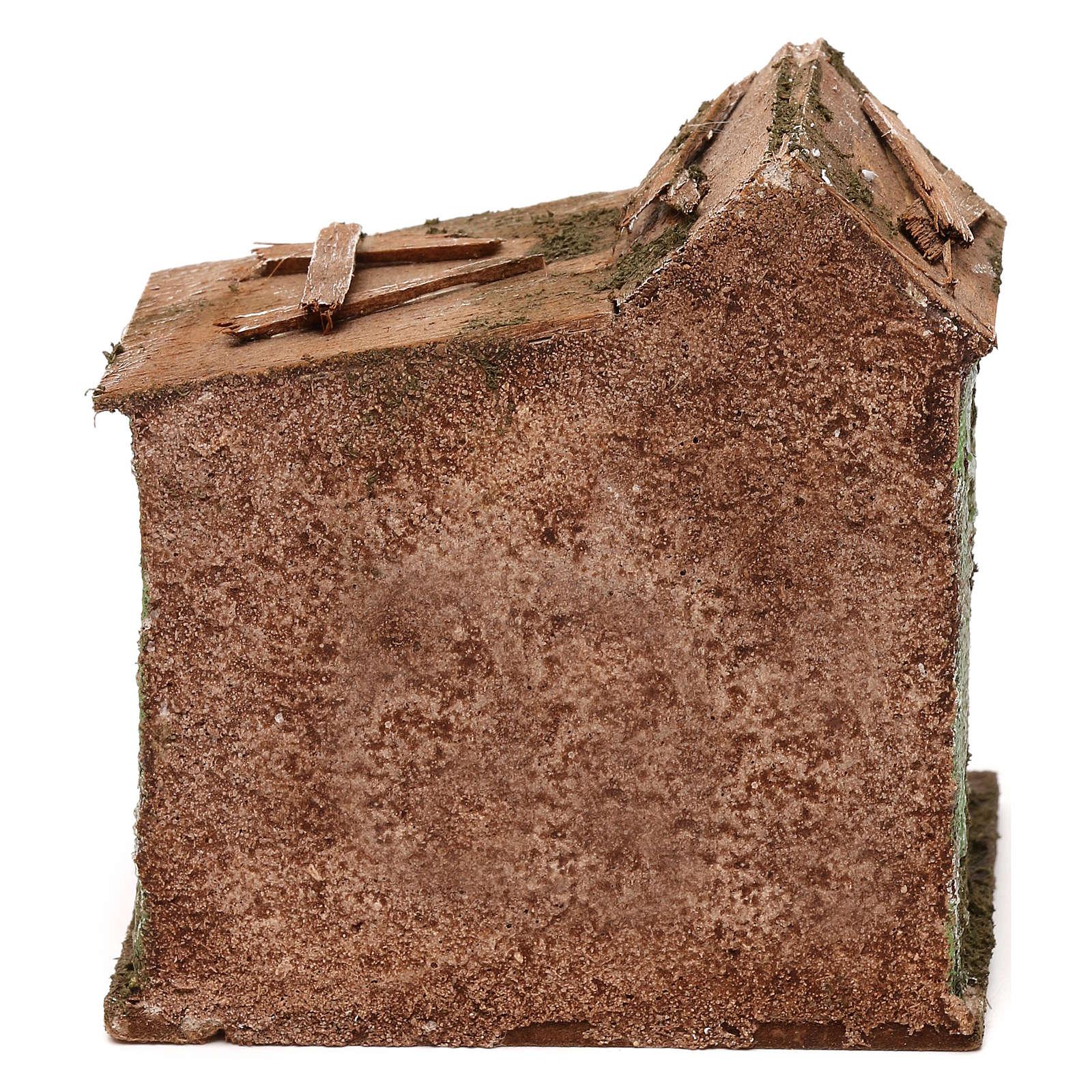 Maison porte 10x10x10 cm 4