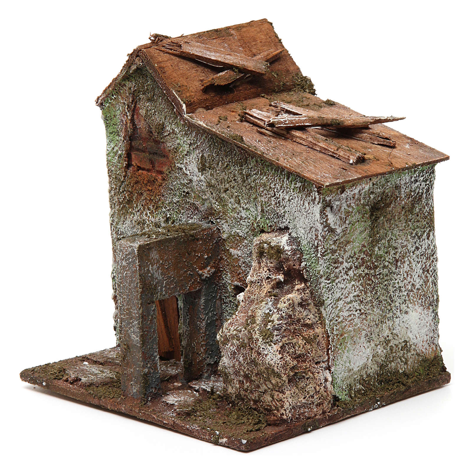 Casa porta 10x10x10 cm 4
