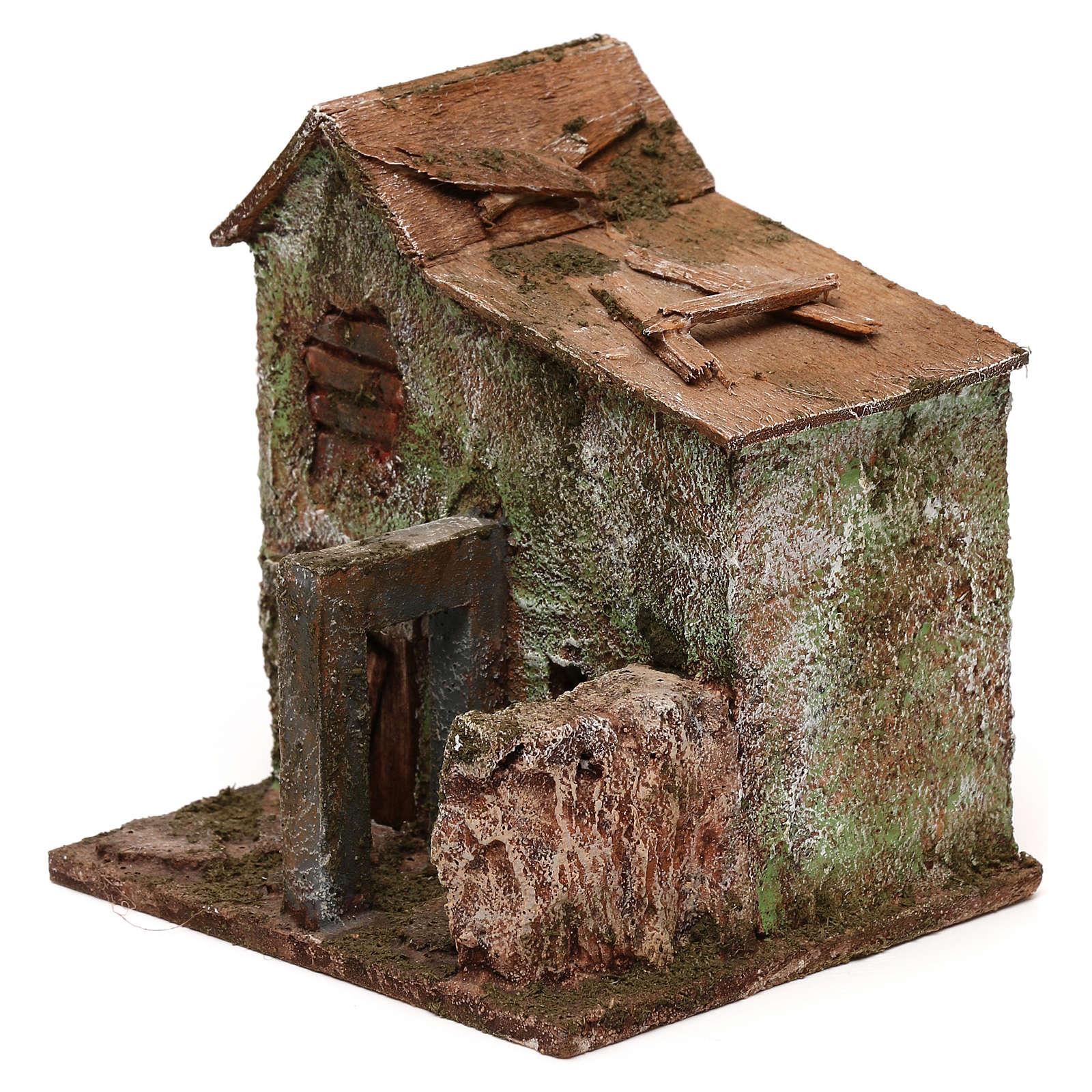 Casa porta 10x10x10 per statue 3 cm 4