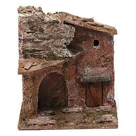 Casa porta e arco 10x10x10 cm s1