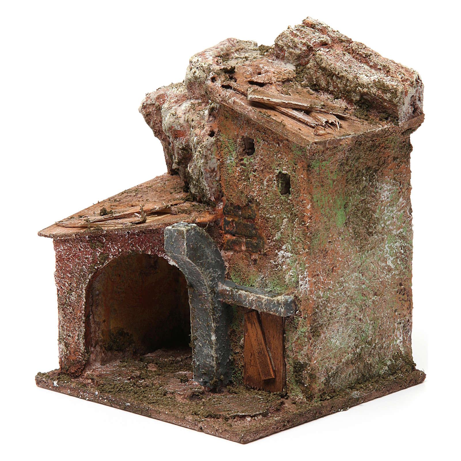 Maison portique et arc 10x10x10 cm 4