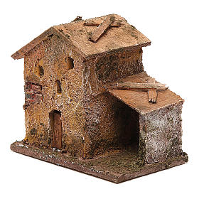 Small porticoed house 10x10x5 cm s2