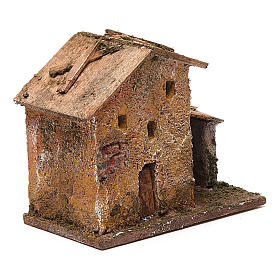 Small porticoed house 10x10x5 cm s3