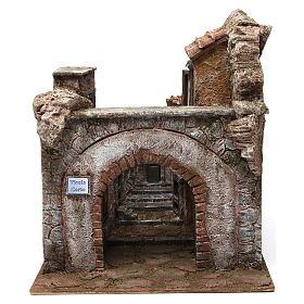 Borgo Vicolo Corto per presepe 10 cm 35x30x40 cm s1