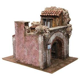 Borgo Vicolo Corto per presepe 10 cm 35x30x40 cm s3