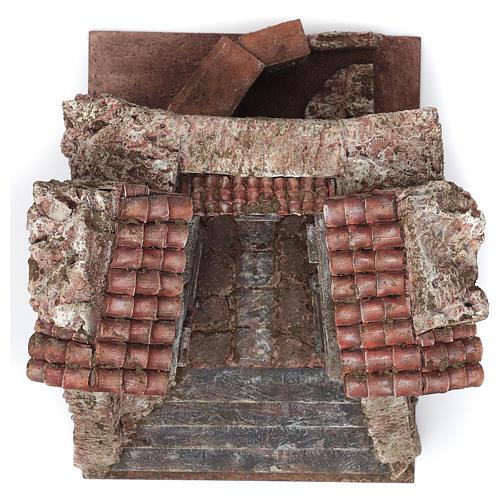 Aldea Callejón Torcido para belén 10 cm de altura media 29x29x25 cm 3