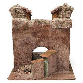 Borgo Vicolo Storto per presepe 10 cm 29x29x25 cm s5
