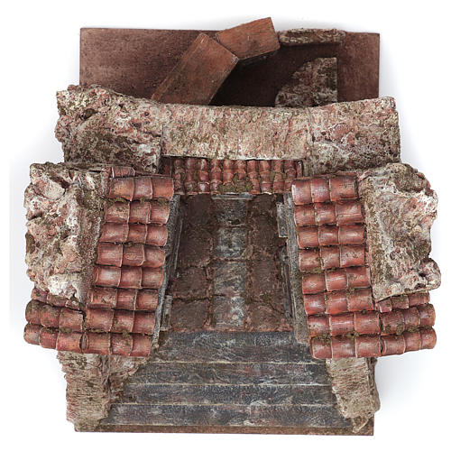 Borgo Vicolo Storto per presepe 10 cm 29x29x25 cm 3