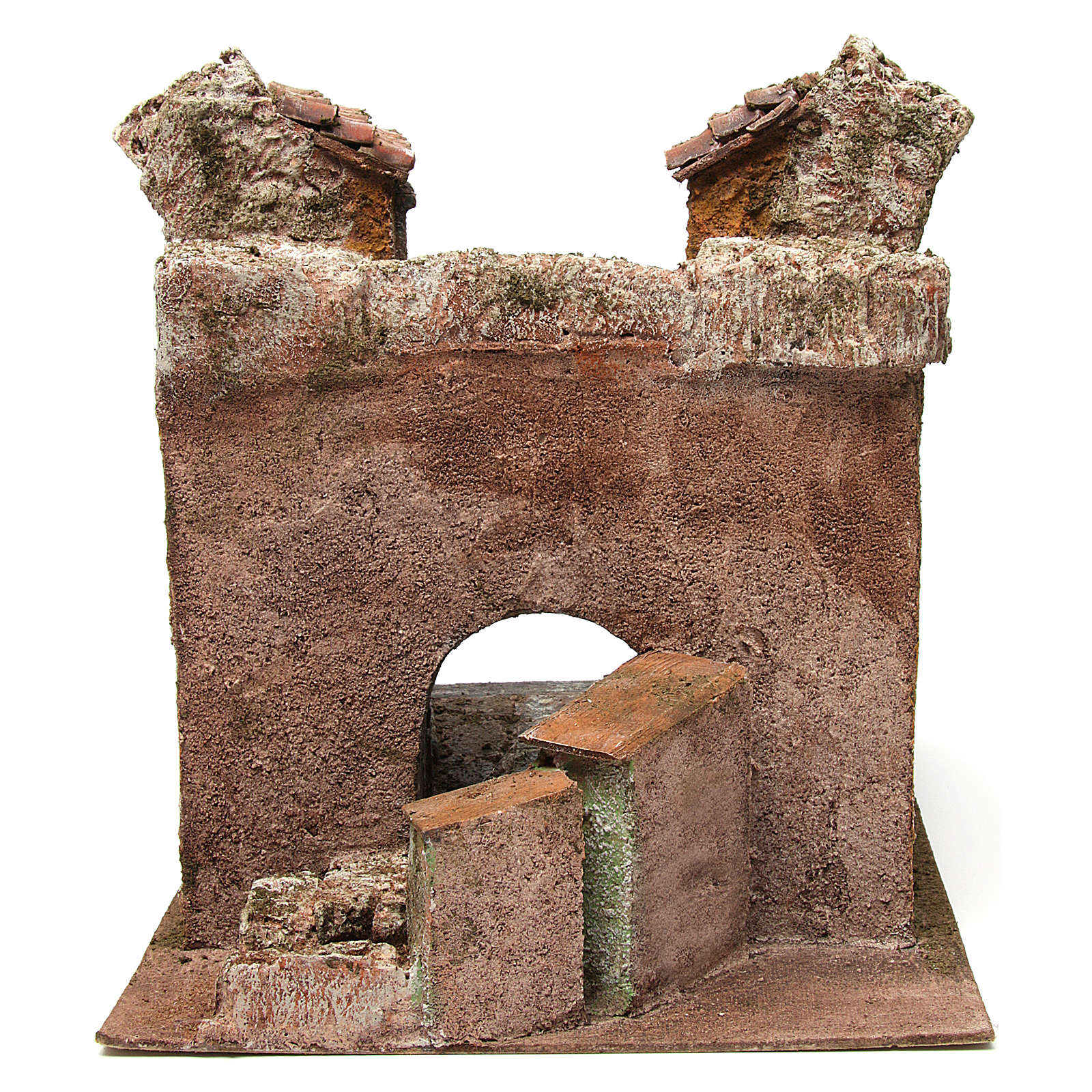 Borough Vicolo Storto for 10 cm nativity 29x29x25 cm 4