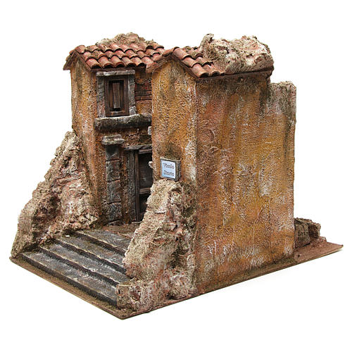 Borough Vicolo Storto for 10 cm nativity 29x29x25 cm 2
