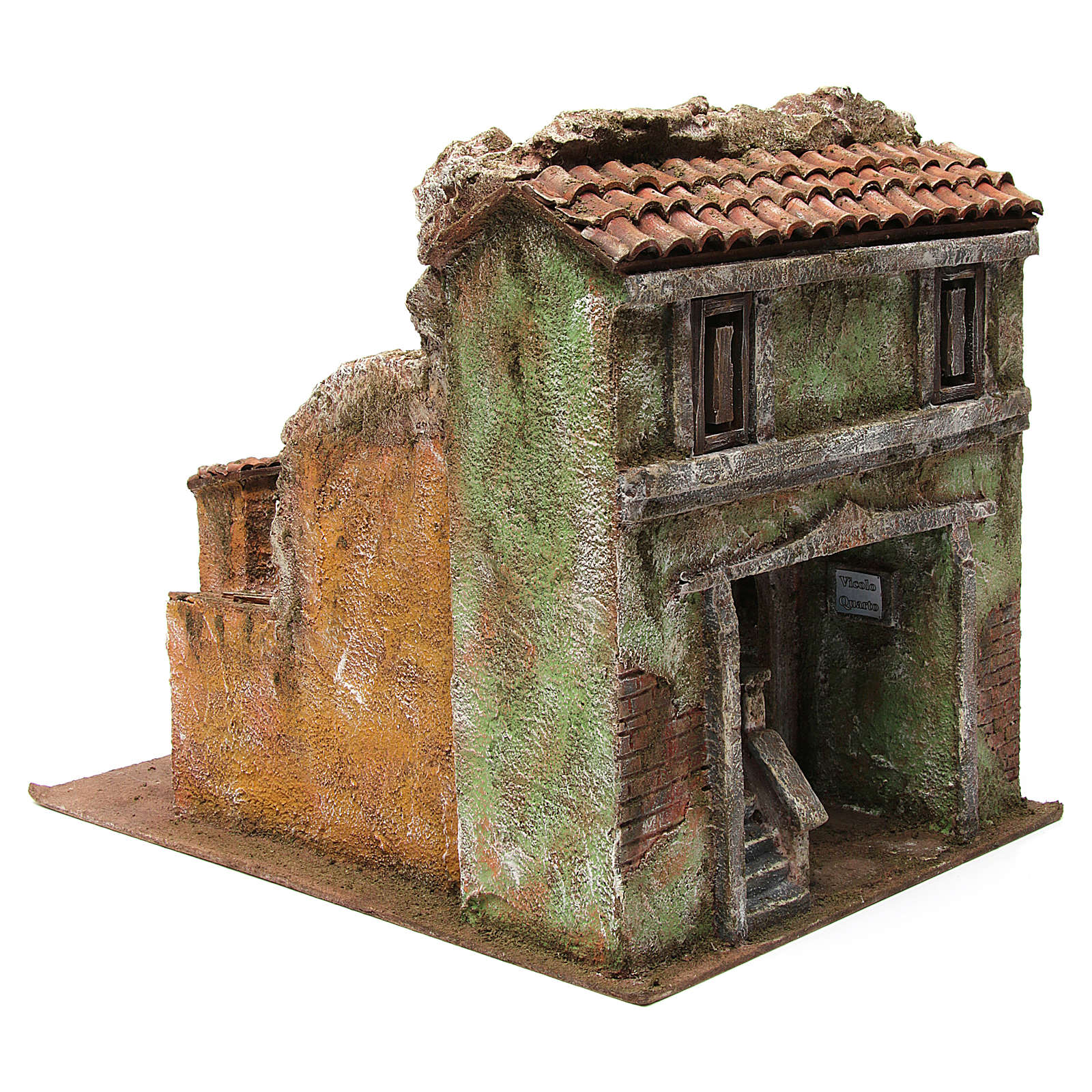 Vicolo Quarto alley setting for 10 cm nativity scene 4