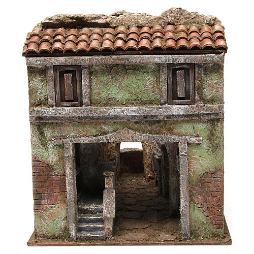 Vicolo Quarto alley setting for 10 cm nativity scene 1