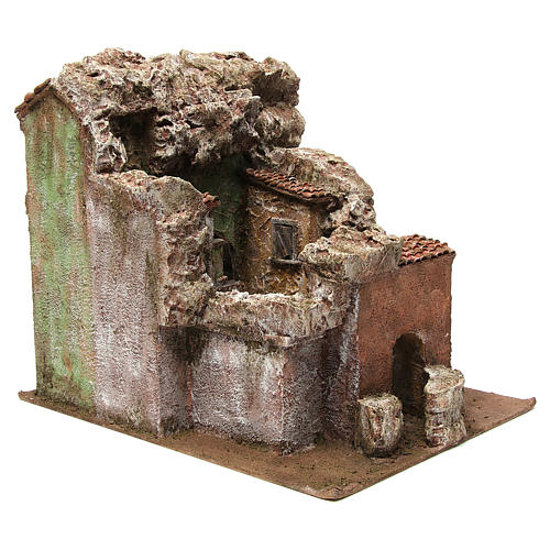 Vicolo Quarto alley setting for 10 cm nativity scene 7