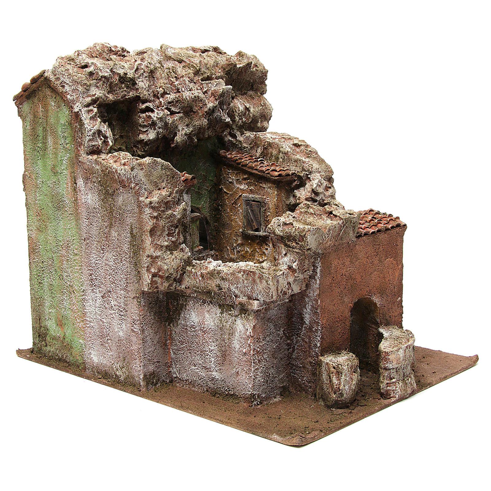 Borough Vicolo Quarto for 10 cm nativity 30x30x40 cm 4