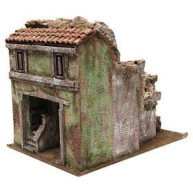 Borough Vicolo Quarto for 10 cm nativity 30x30x40 cm s2