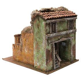 Borough Vicolo Quarto for 10 cm nativity 30x30x40 cm s3