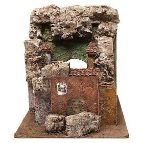 Borough Vicolo Quarto for 10 cm nativity 30x30x40 cm s5